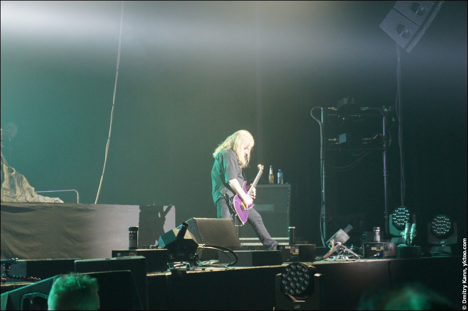 Nightwish: Emppu Vuorinen and his favourite purple guitar.