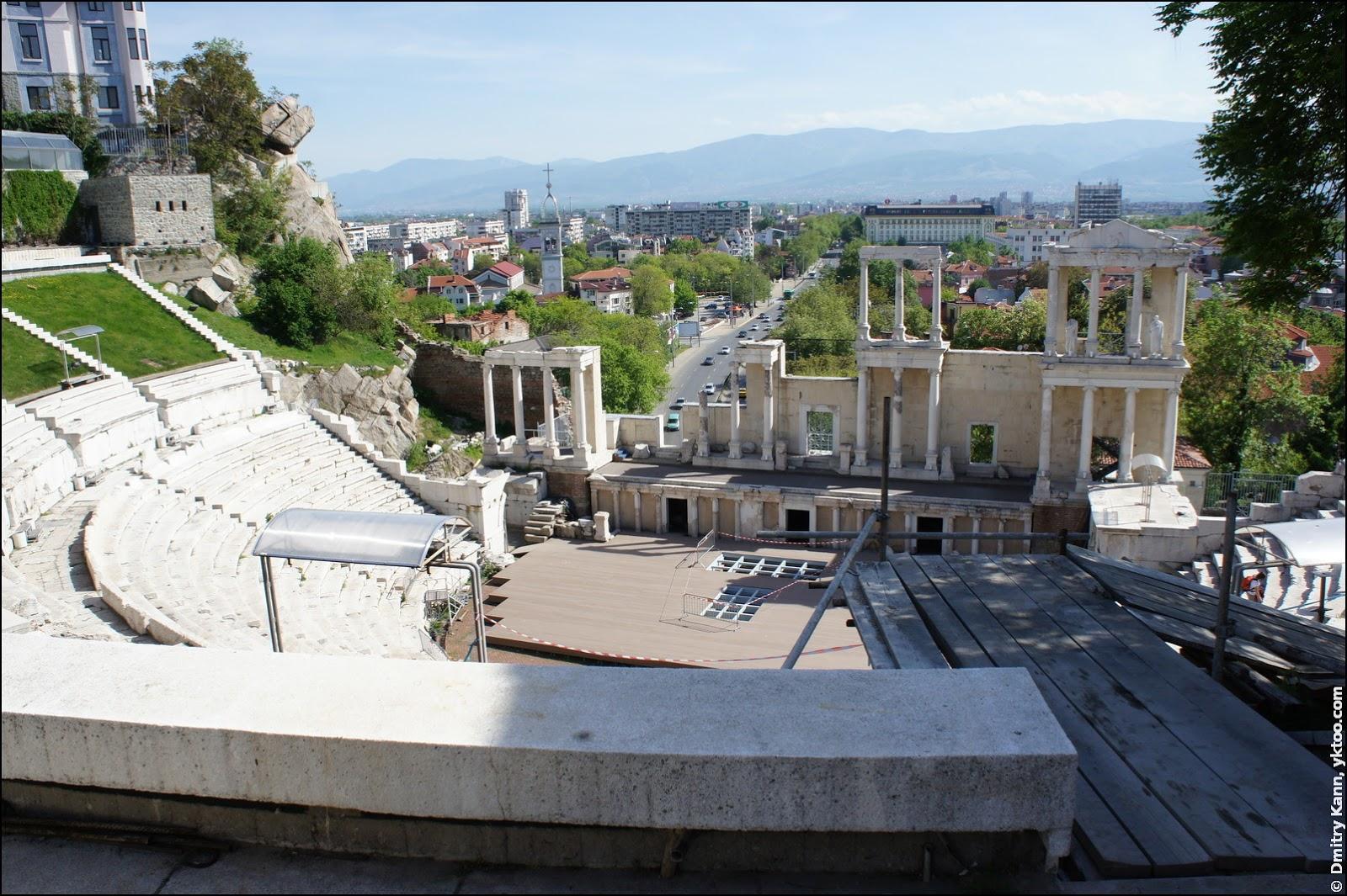 Пловдивский античный театр.