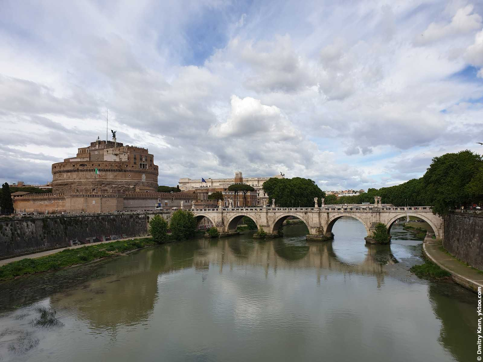 Rome, Italy. The Tiber river.