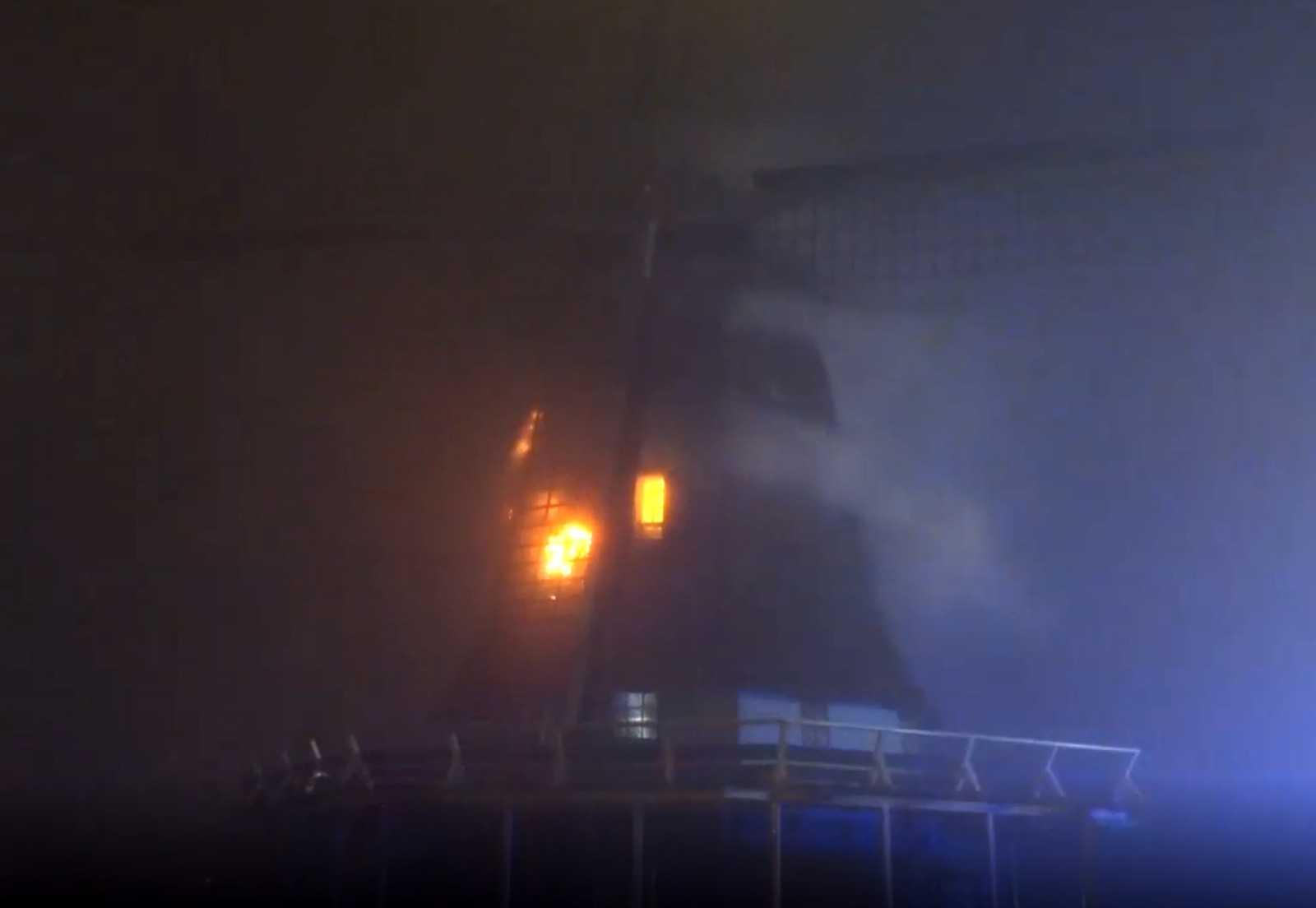 Ветряная мельница в Бовенкарспеле. Кадр из видео NOS.