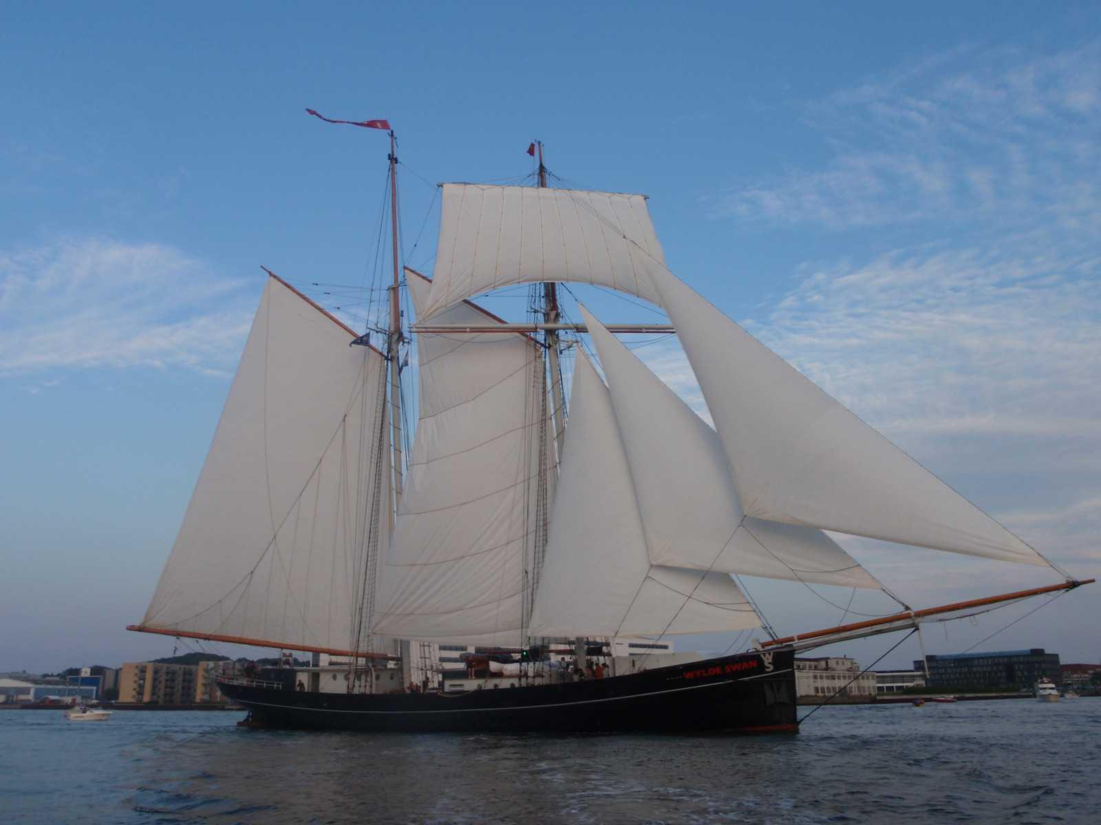 Шхуна Wylde Swan. Фото: Wikimedia.