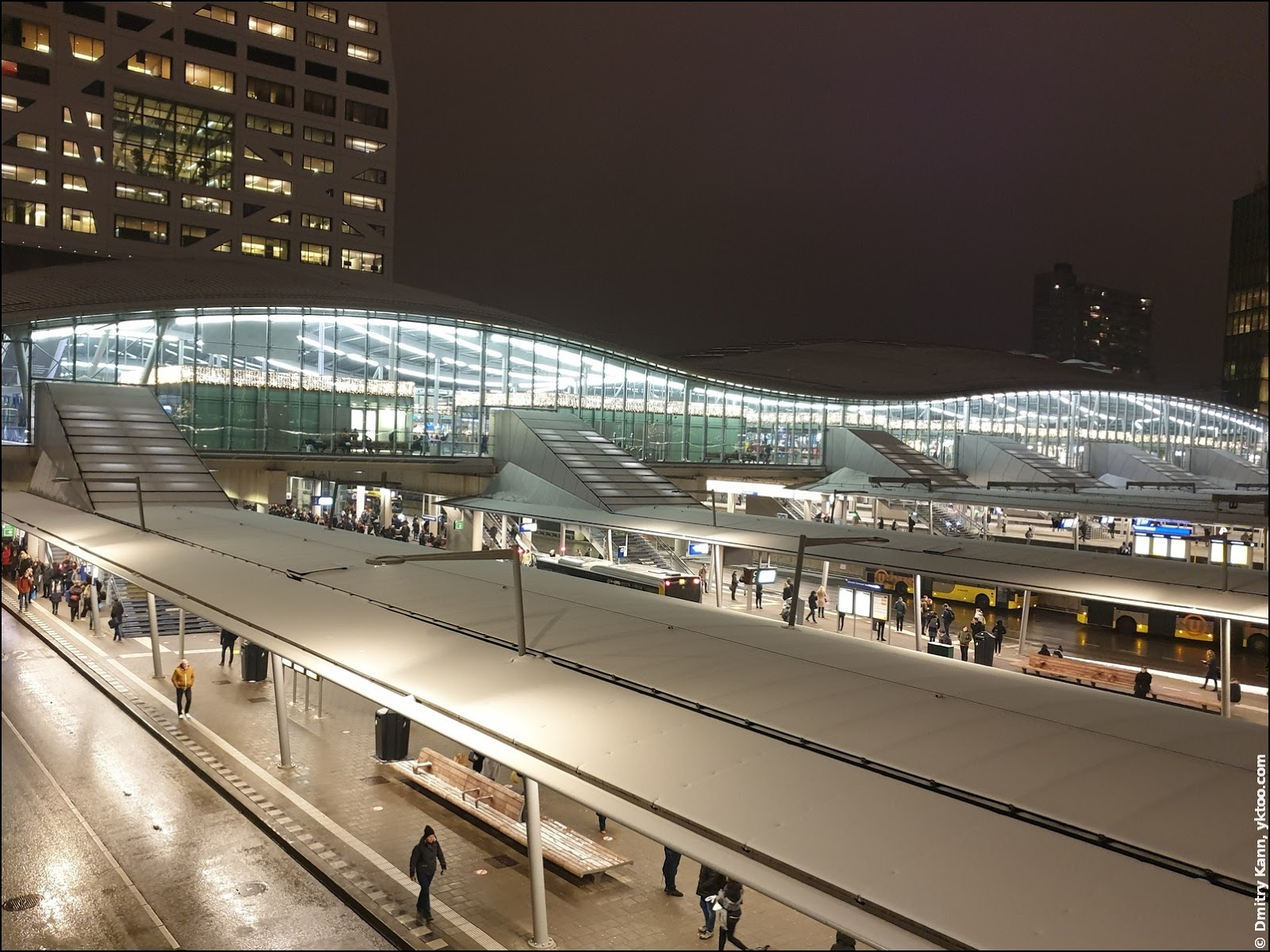 Центральный вокзал Утрехта (Utrecht Centraal).