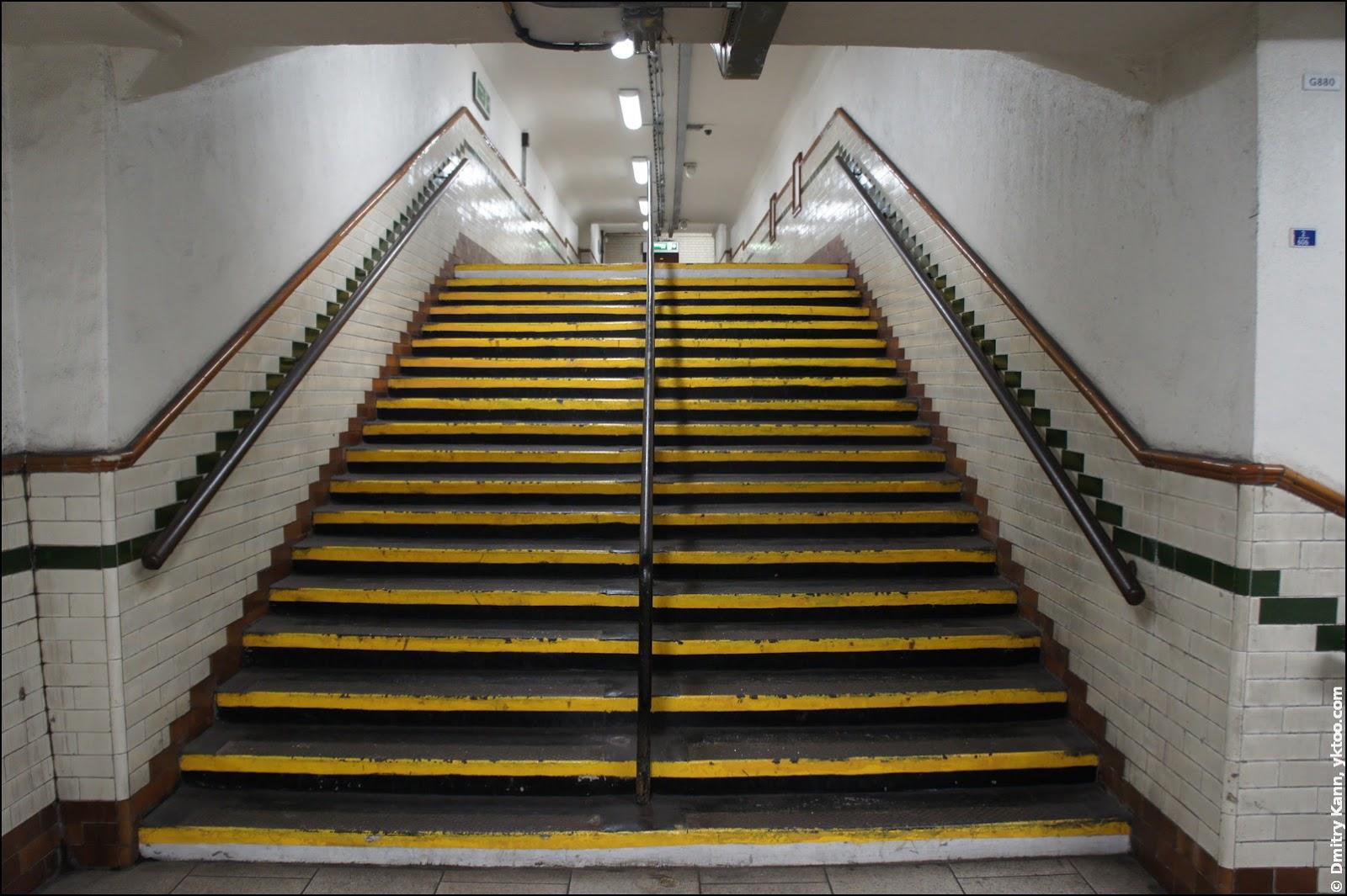 Лестница в метро.