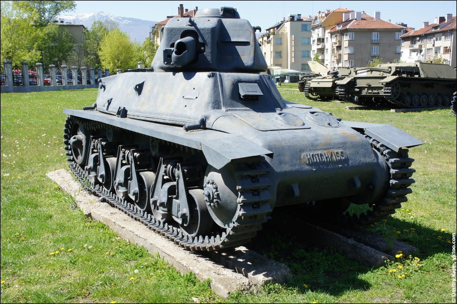 Tank Hotchkiss H-39.