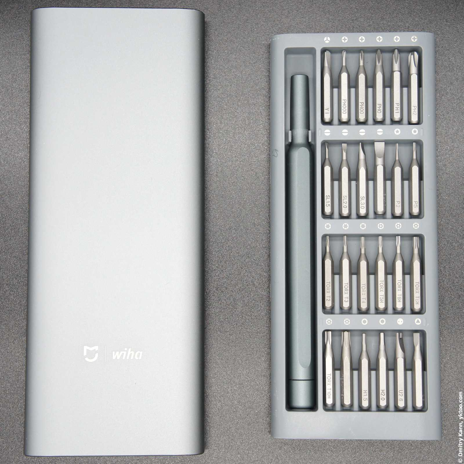 Xiaomi Wiha screwdriver kit.