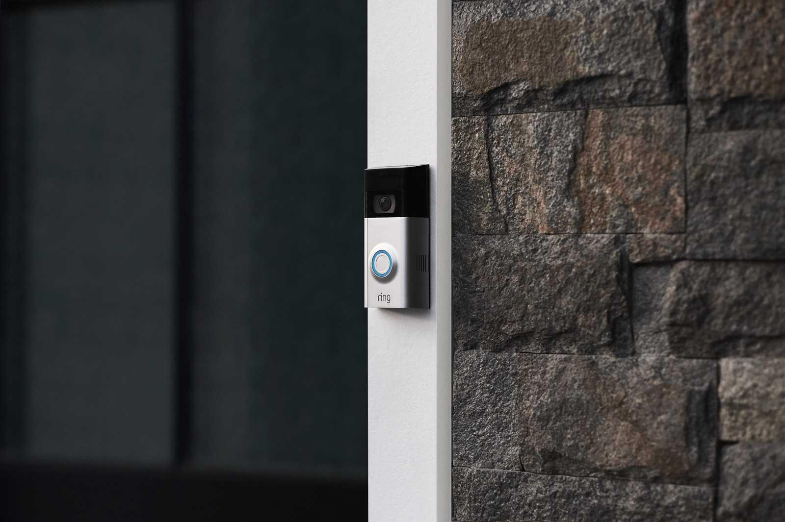 Дверной видеозвонок Ring. Фото: Ring/CC-BY-SA-4.0.