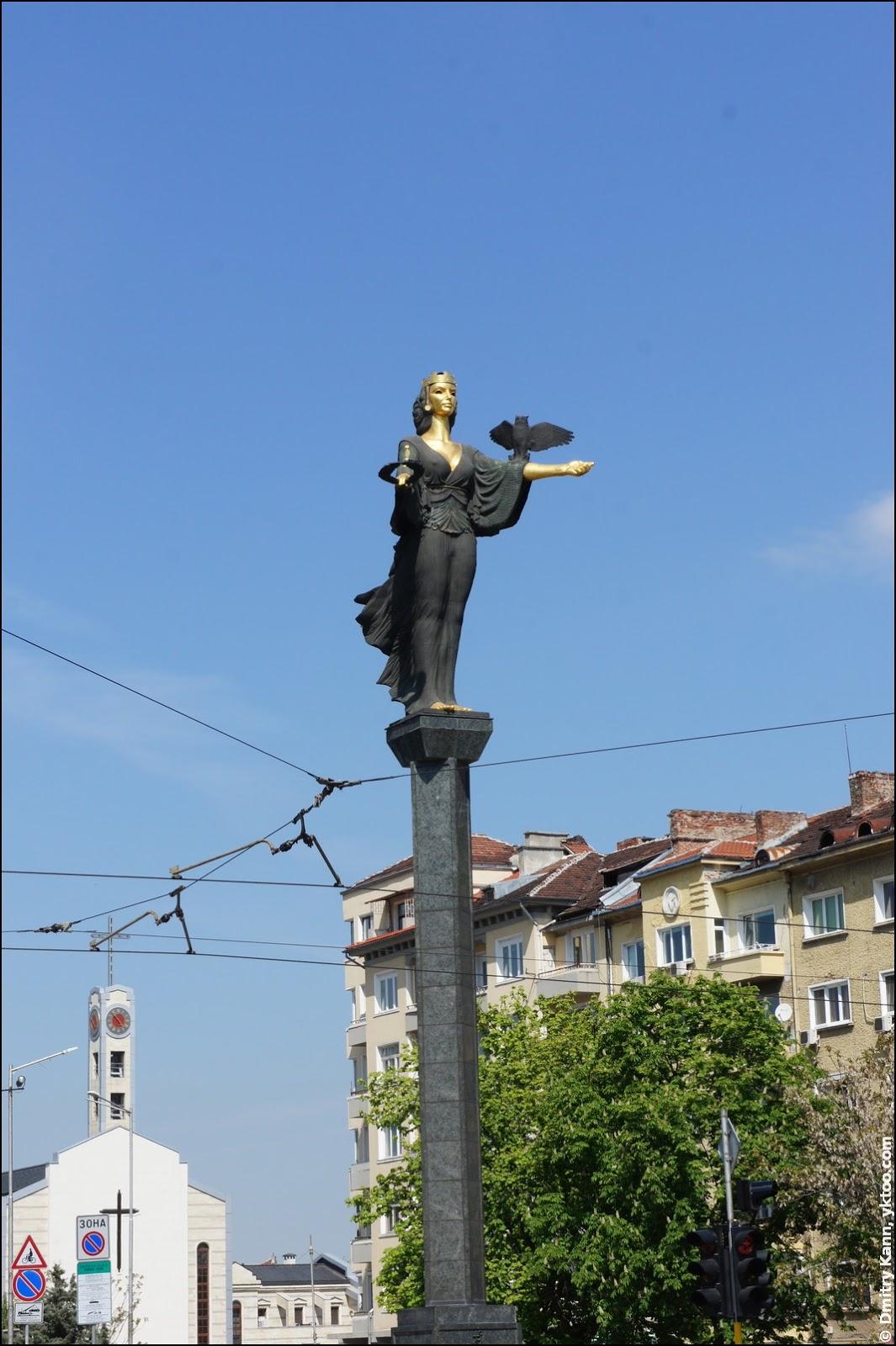 Saint Sofia monument.