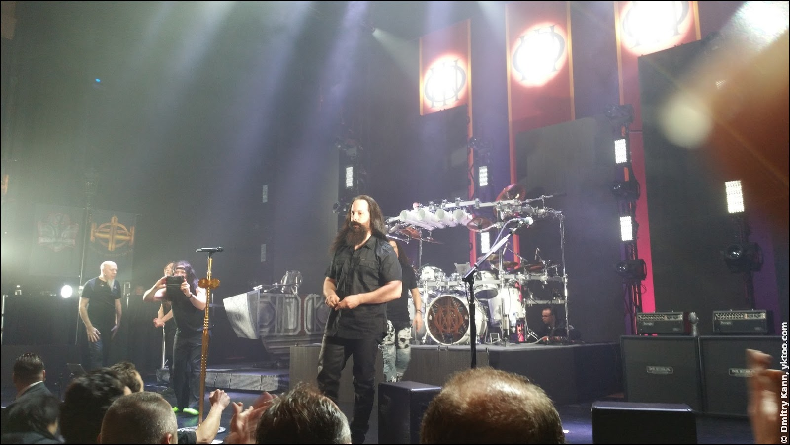 Dream Theater in Carré. John Petrucci.