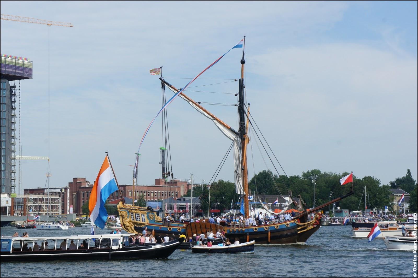 Корабль «De Utrecht».