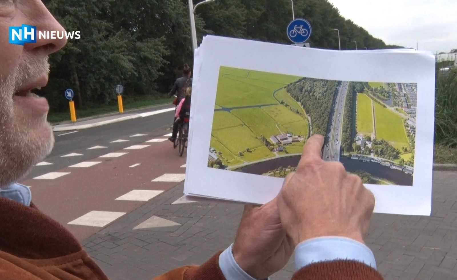 Лесной массив, подлежавший вырубке. Кадр из видео NH Nieuws.