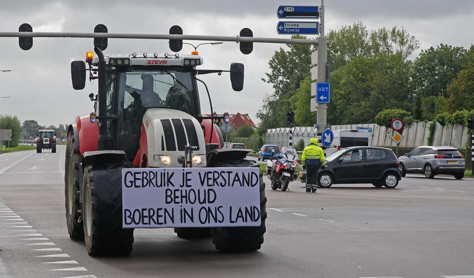 Протестующий фермер. Фото: Kees Torn/Wikimedia.