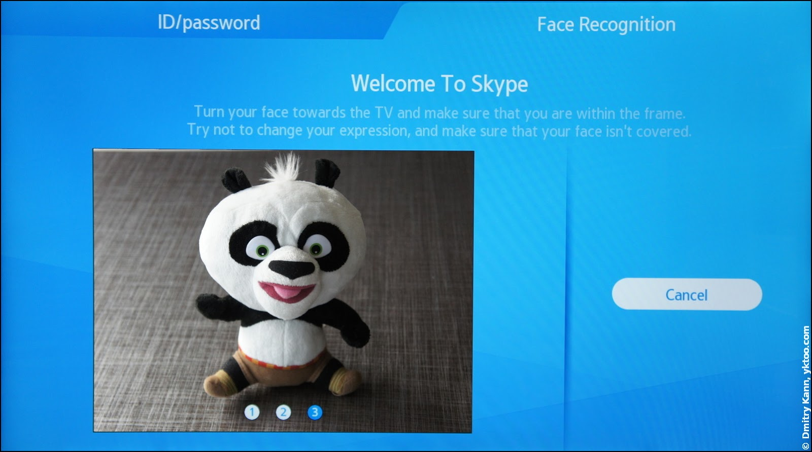 Skype: Face Recognition.