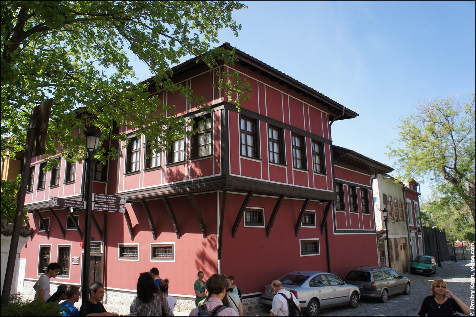 A historical house.