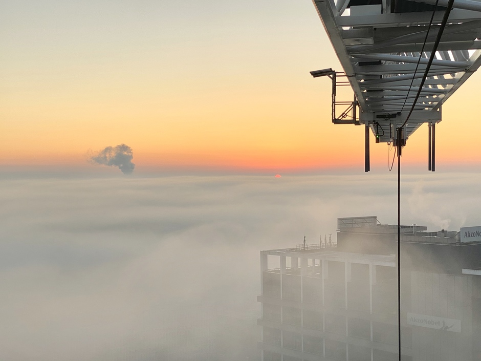 Above the mist. Photo: public.