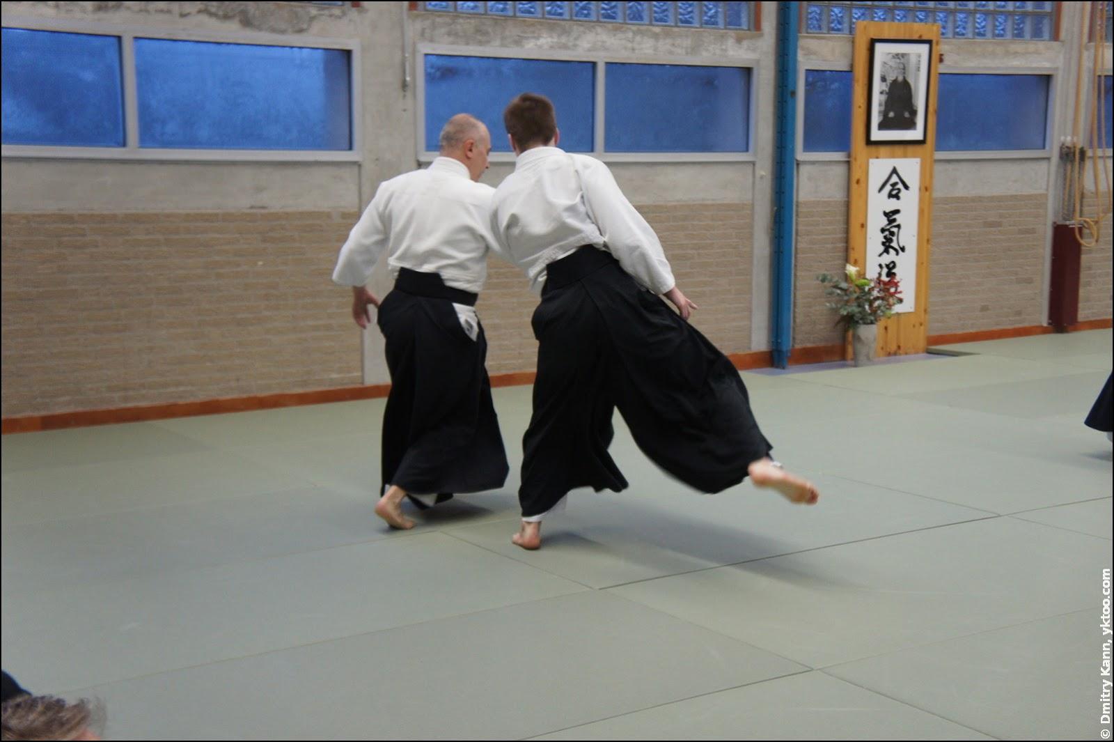 The seminar at Aikido Centrum Leiden.
