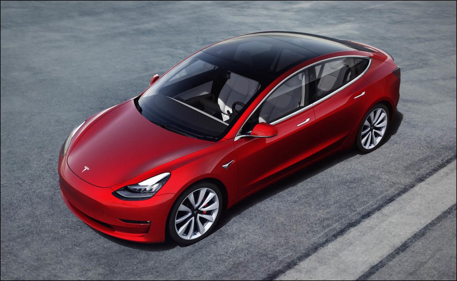 Tesla Model 3. Фото: tesla.com.
