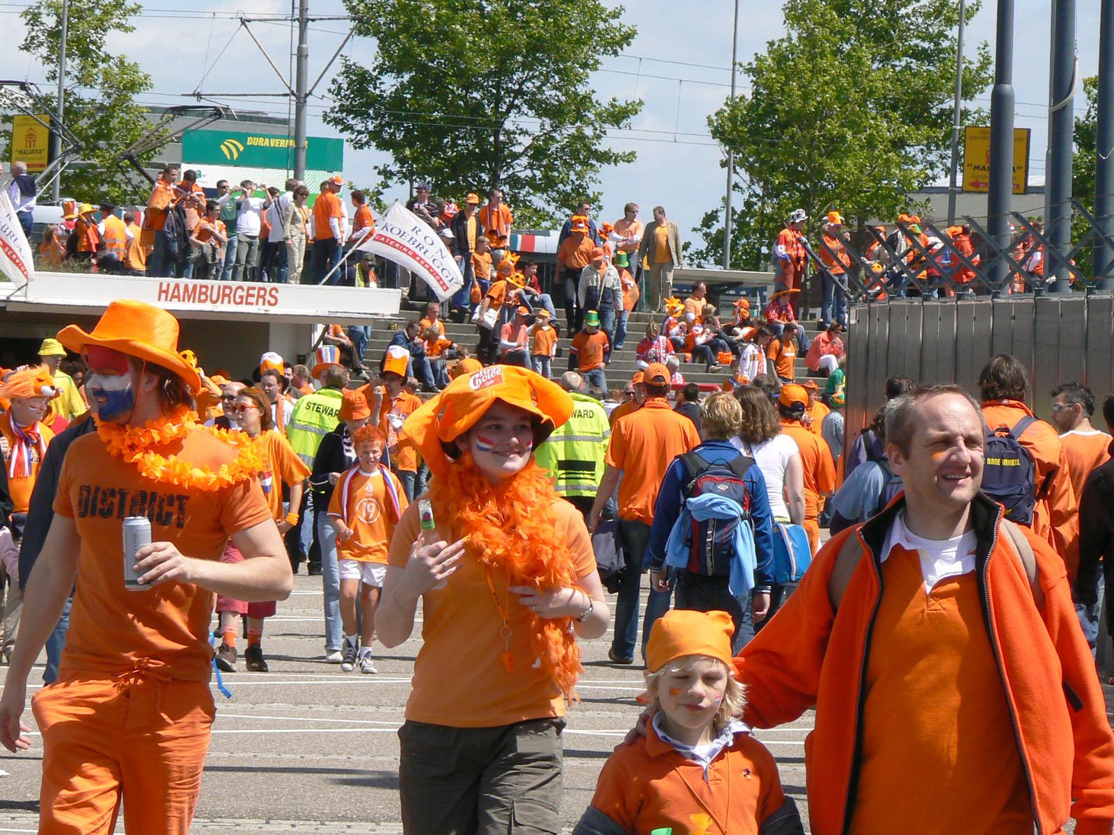 Оранжевое безумие. Фото Wikimedia.