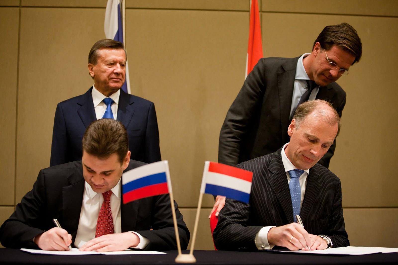 Премьер-министр Марк Рутте (справа вверху). Фото: Rijksvoorlichtingsdienst.