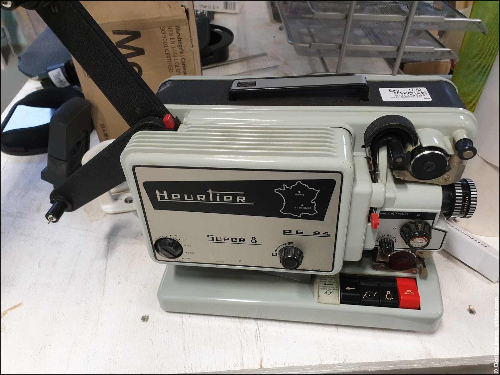 Киноаппарат Super 8.