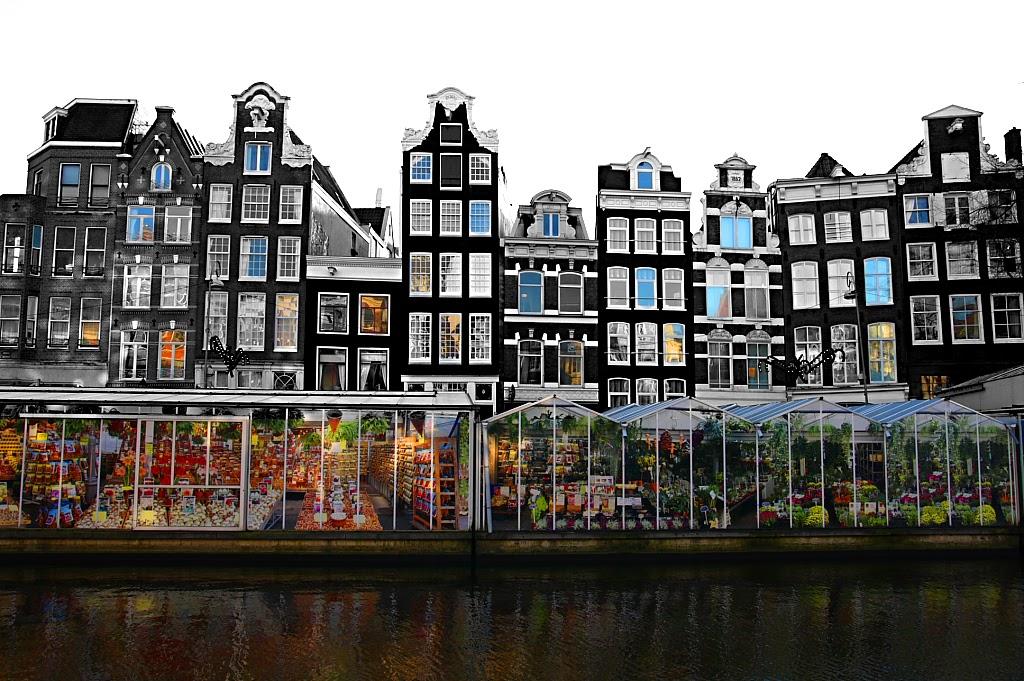 Амстердам, Цветочный рынок. Фото: zak mc/Wikimedia.