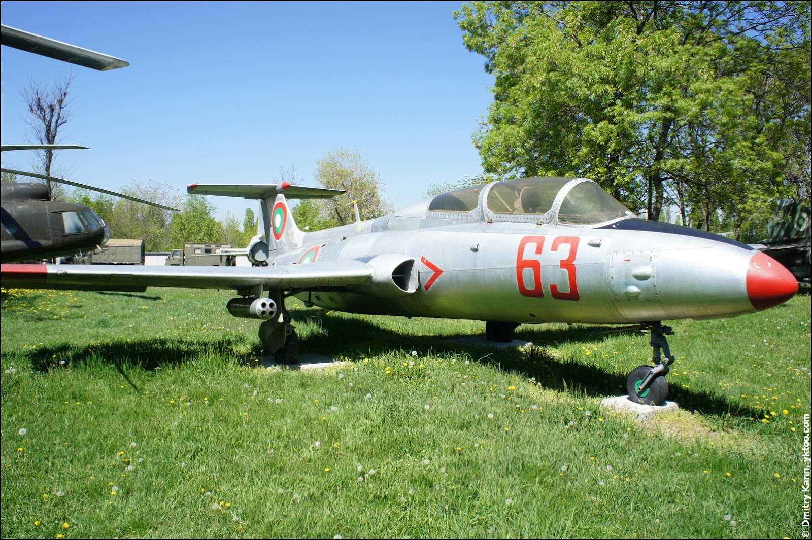 Aircraft L-29 Dolphin.