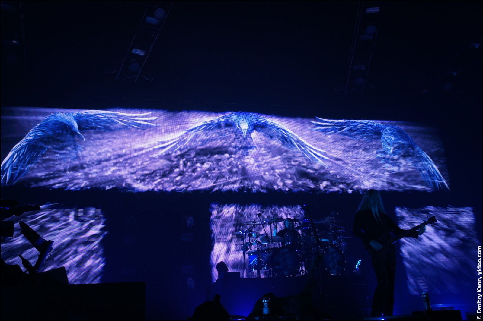 Nightwish: screen backdrop.