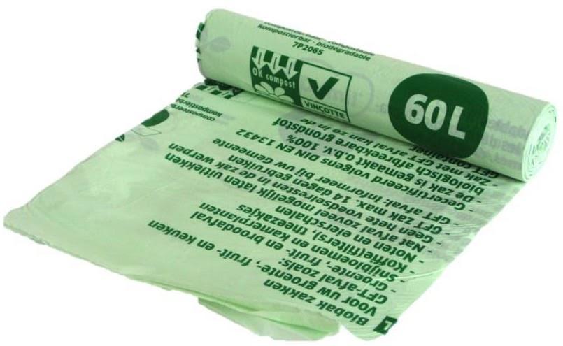 Биопакеты для GFT-мусора.