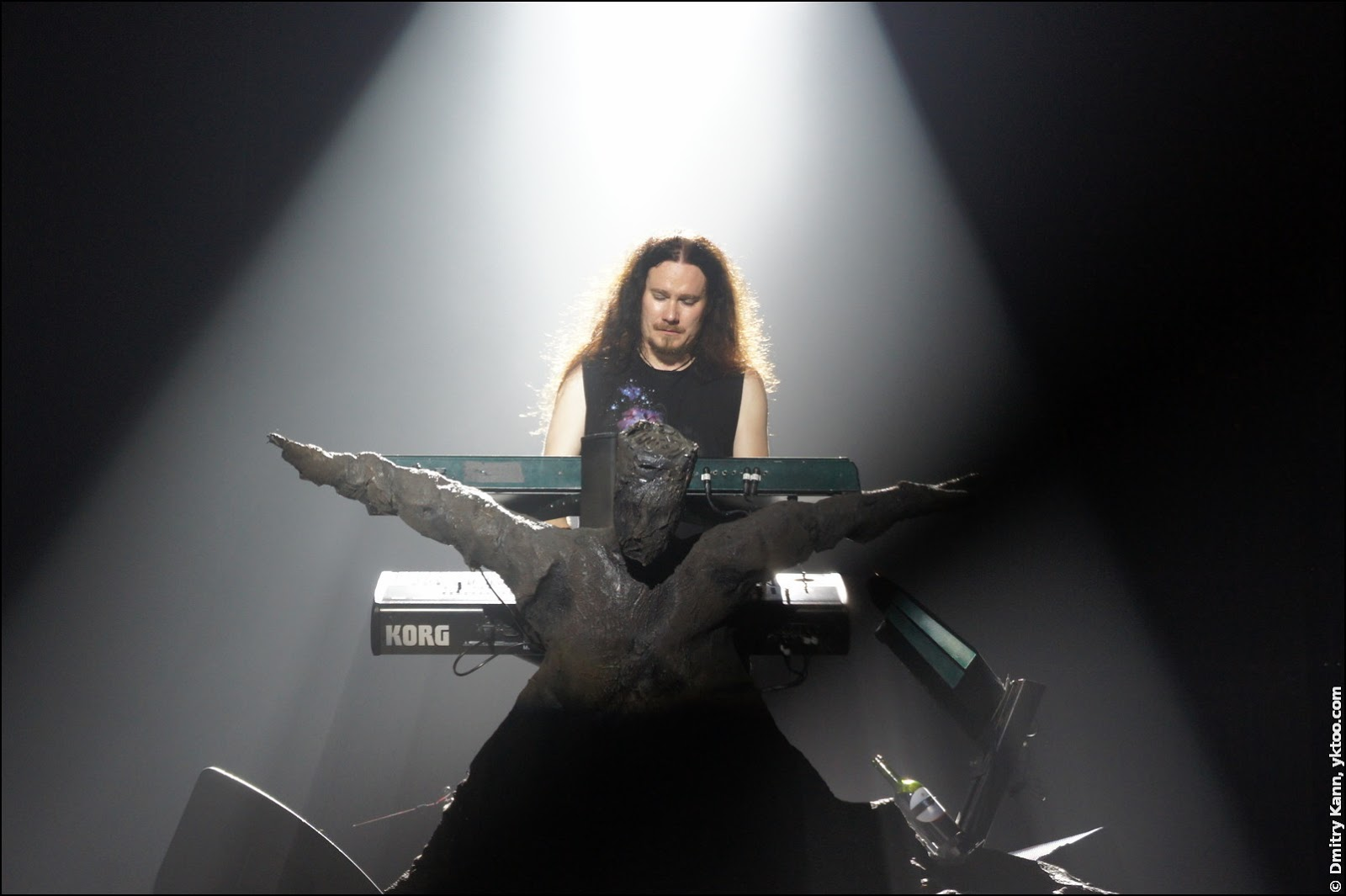 Nightwish: Tuomas Holopainen without hat.