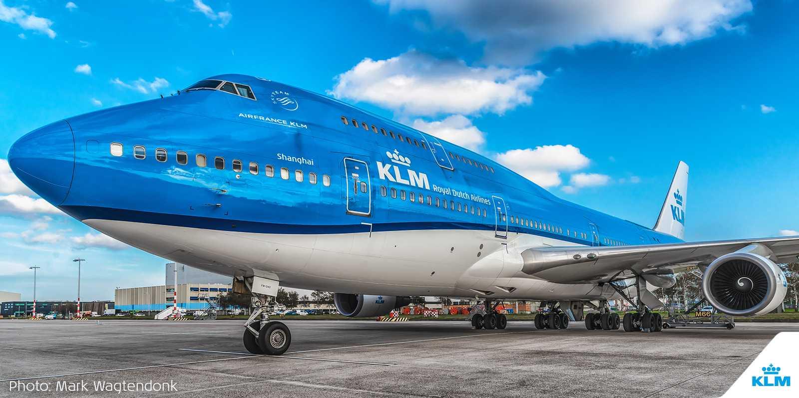 Boeing 747 Combi. Фото: Mark Wagtendonk/@KLM/Twitter.