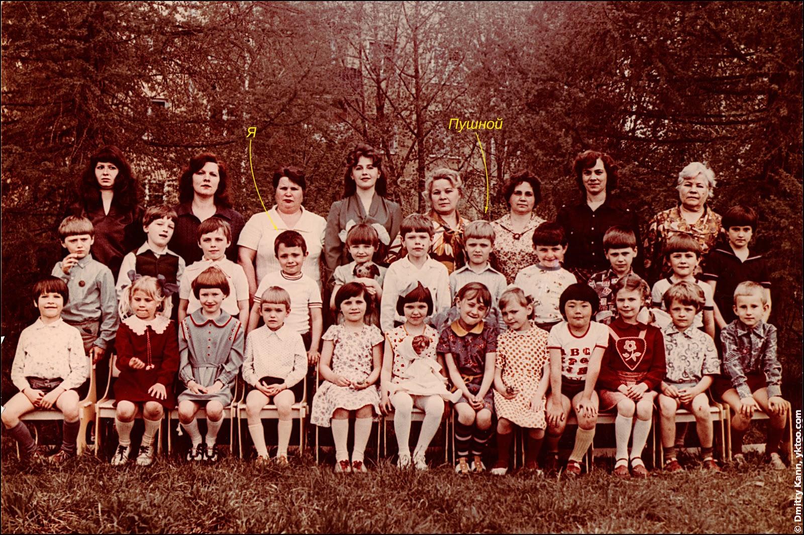 Группа детского сада.