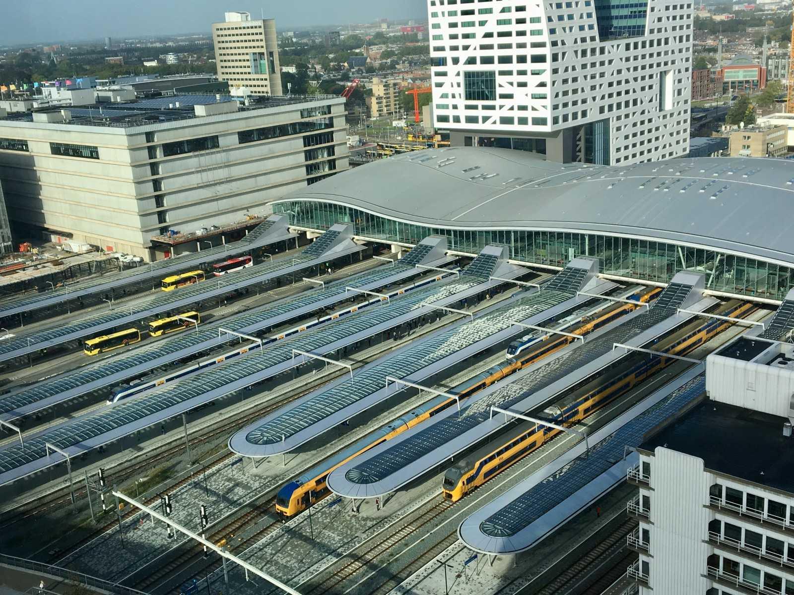 Utrecht Centraal. Фото: NS.