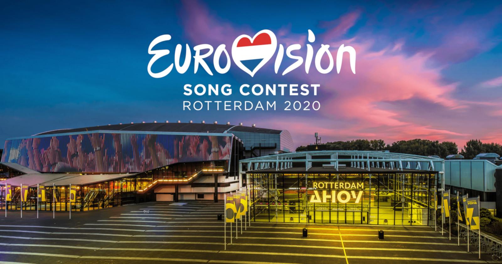 Официальная заставка фестиваля Eurovision.