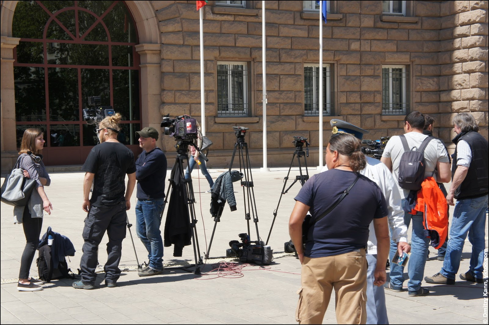 Bulgarian Presidency: reporters.