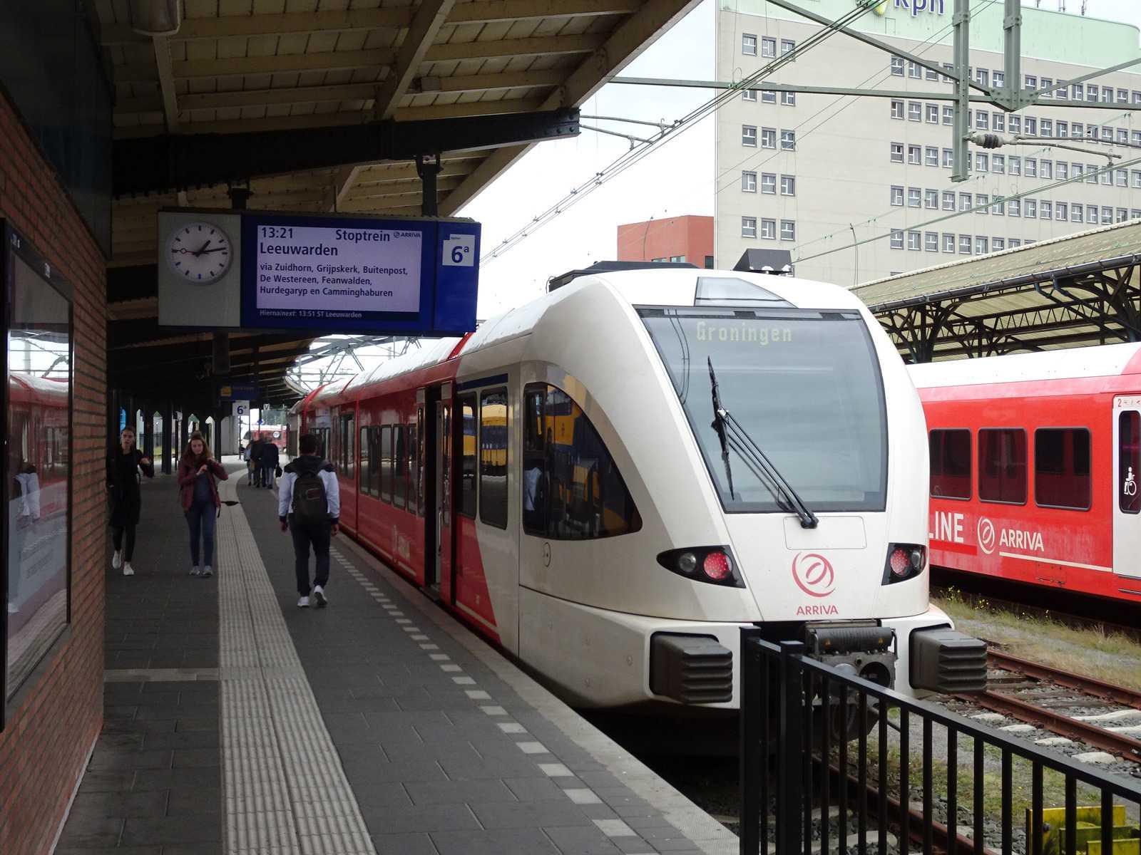 Поезд Arriva. Фото: treinreizigers.nl.