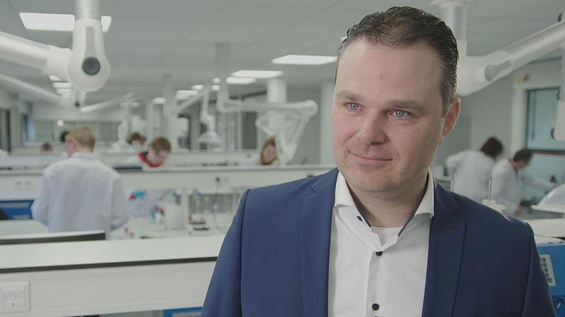 Jan Willem Popma, владелец Ace Pharmaceuticals. Фото: EenVandaag.