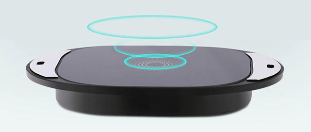 Long-distance Qi charger.