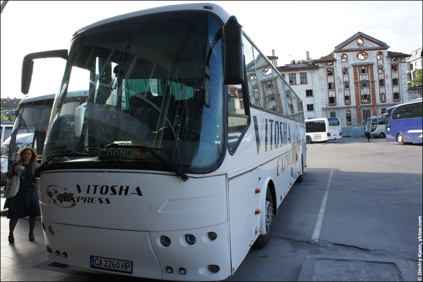 Bus Sofia-Plovdiv.
