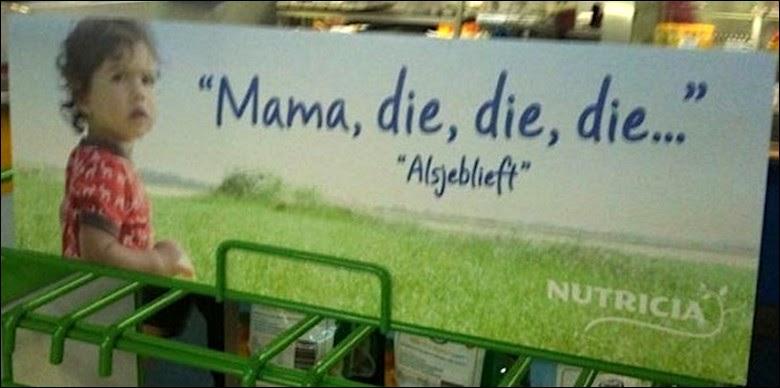 Mama, die, die, die…