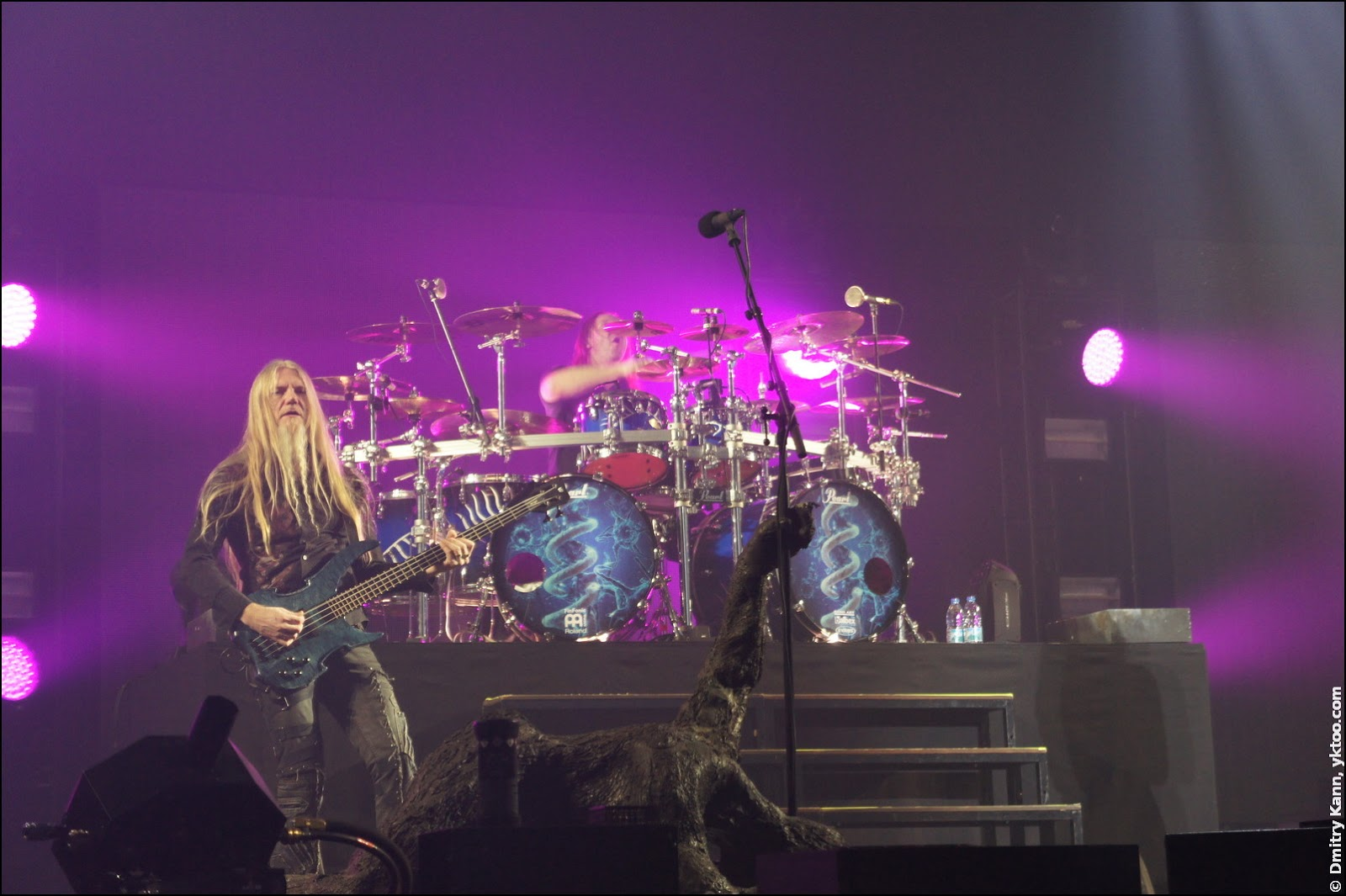 Nightwish: Marco Hietala and Kai Hahto.