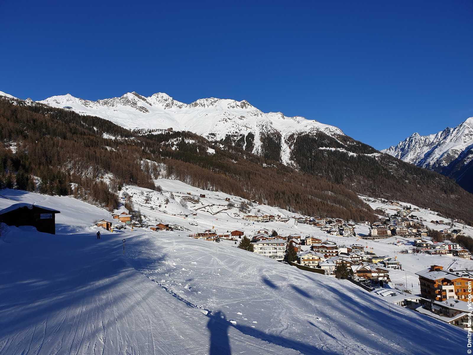 Вид на наше село.