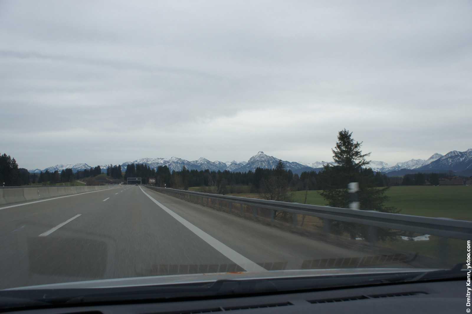Австрия всё ближе.
