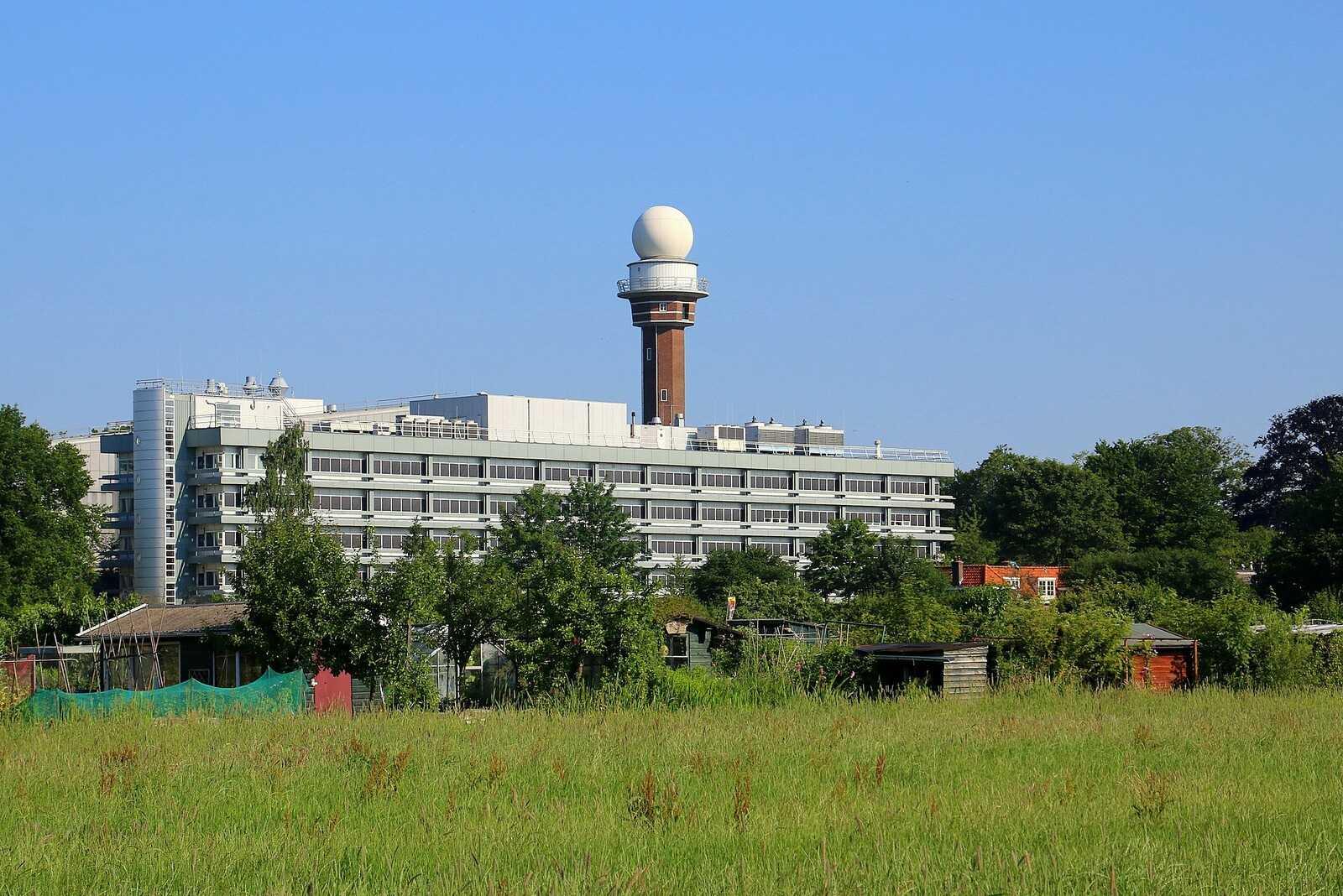 Бывший радар KNMI в Де Билте. Фото: Frans Sellies/Wikimedia.