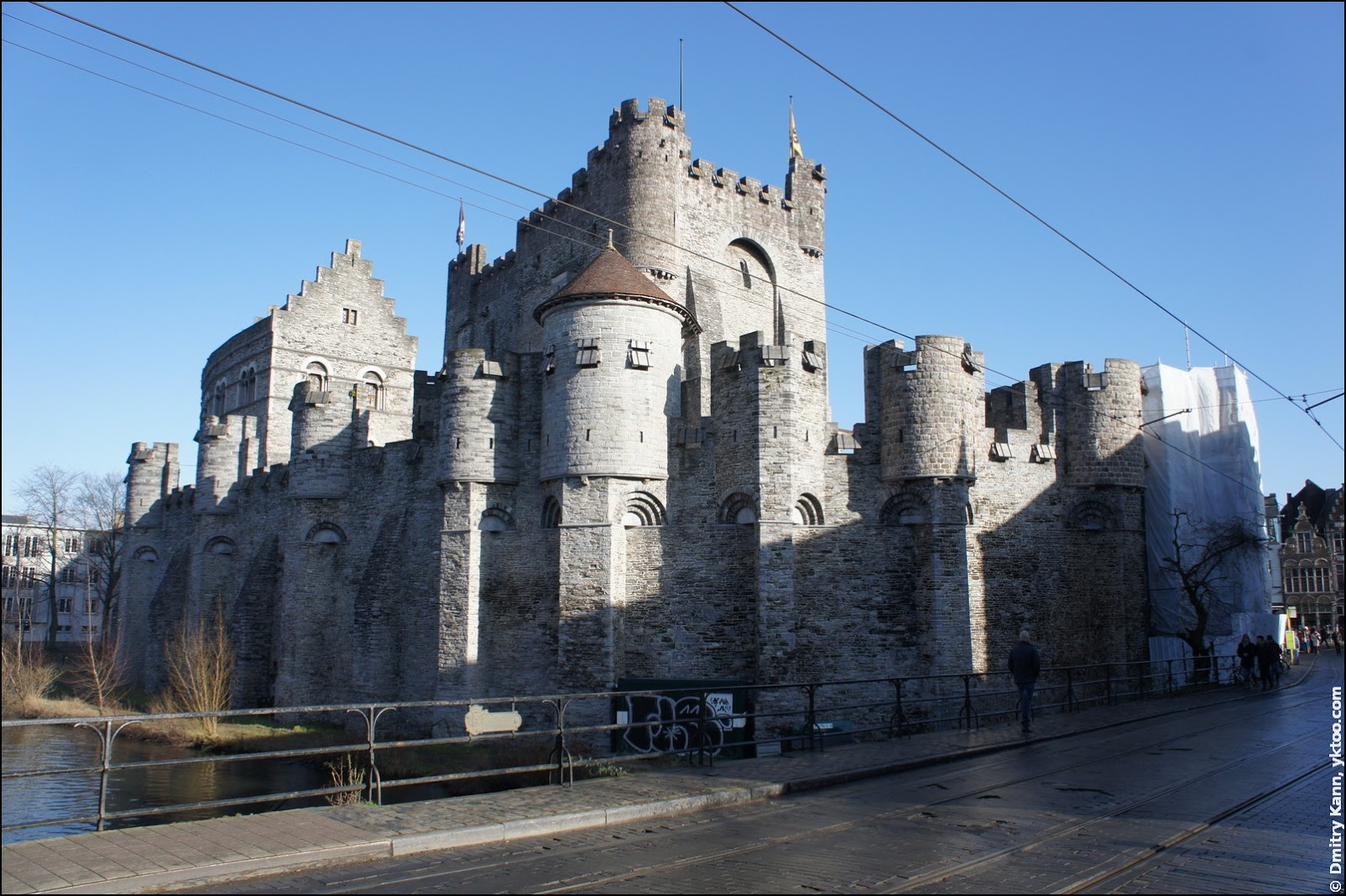 The Gravensteen Castle.