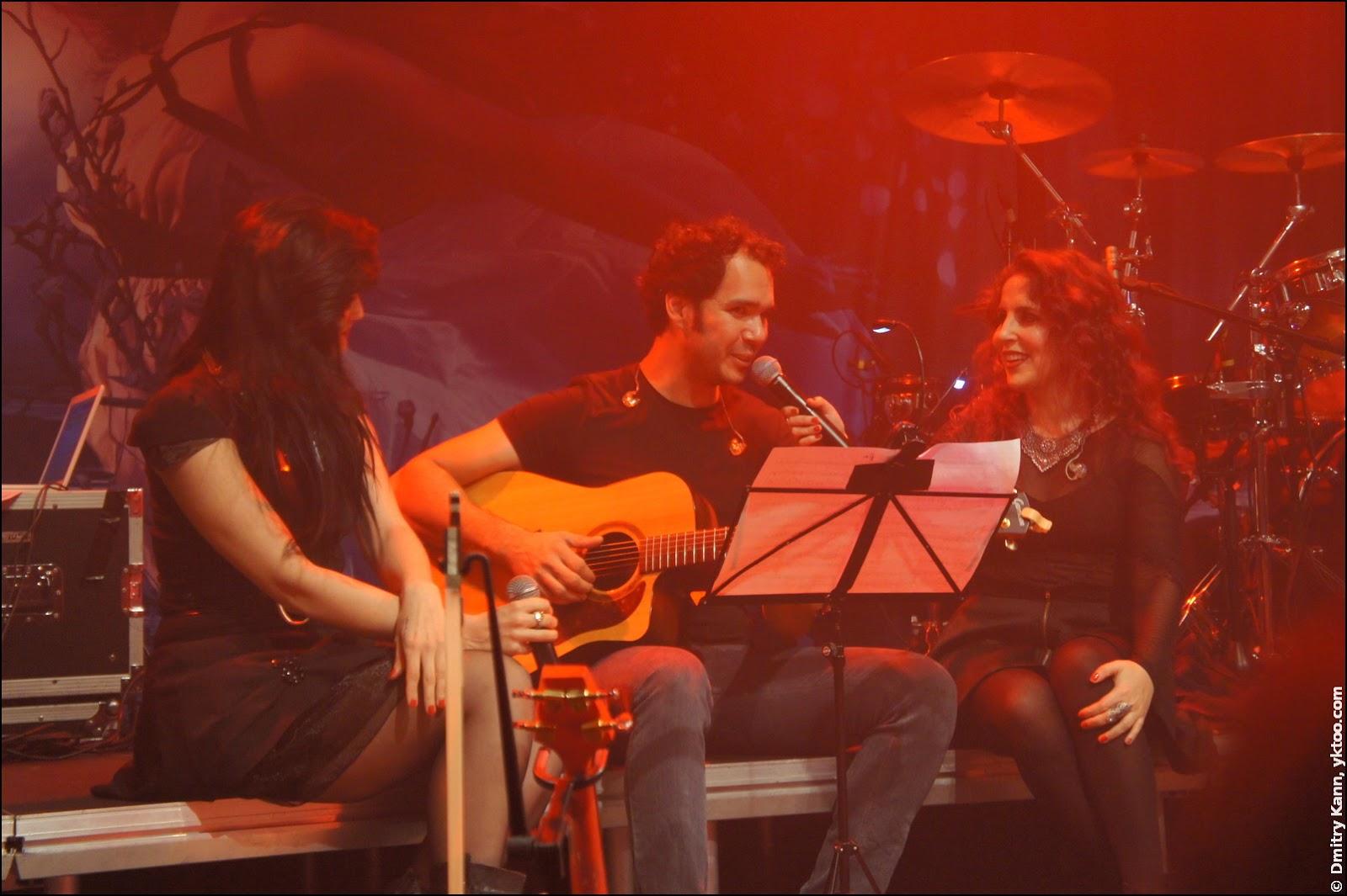 Dianne van Giersbergen, Stephan Schultz, Marcela Bovio.