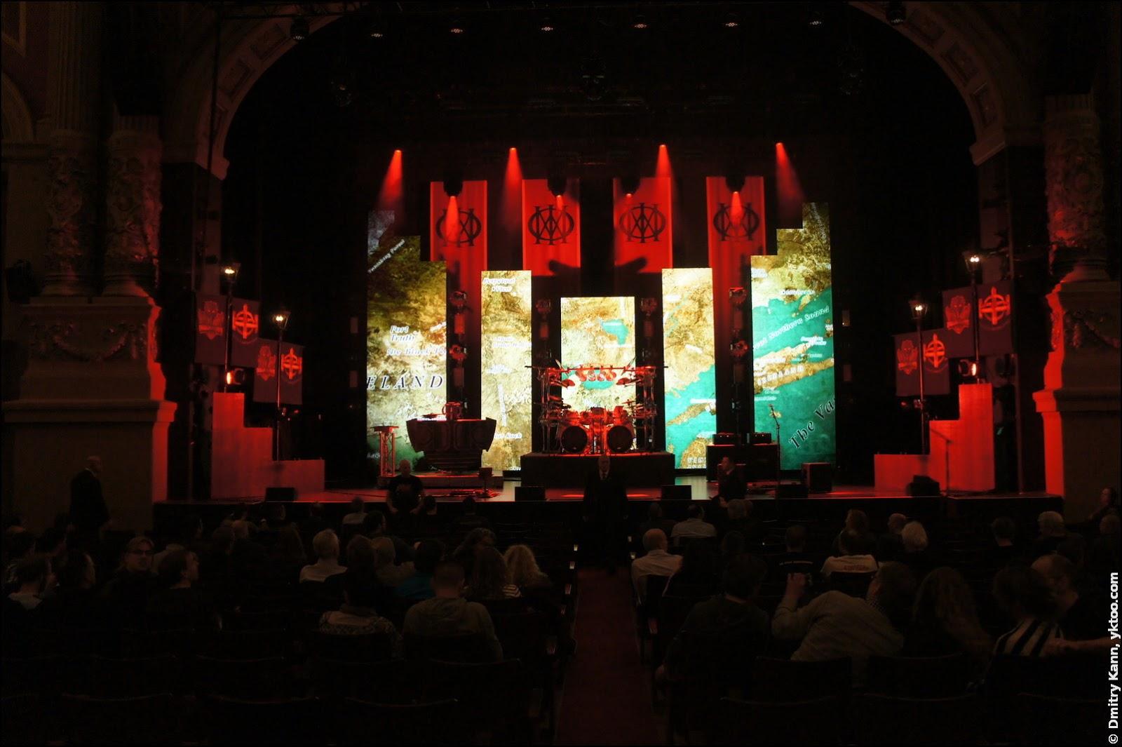 Dream Theater в Carré. Перед началом шоу.
