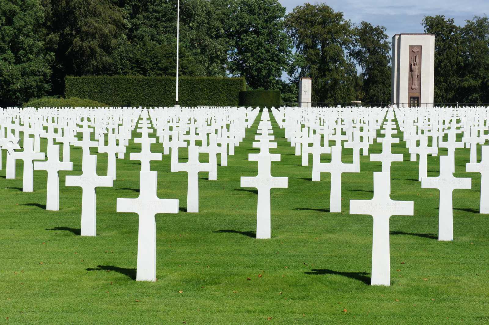 Американское военное кладбище, Люксембург.