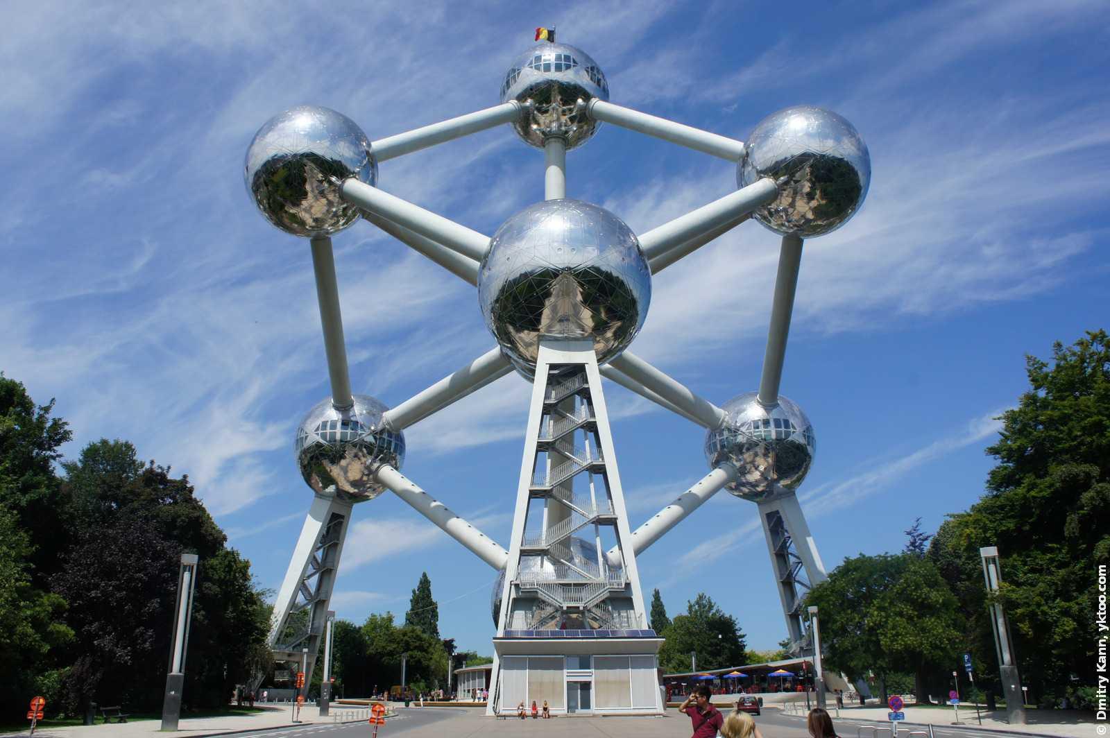 Атомиум, Брюссель, Бельгия.