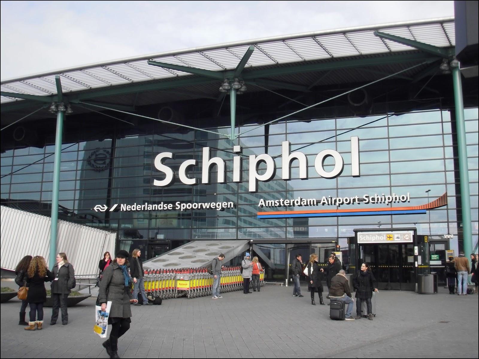 Аэропорт «Схипхол». Фото straatkaart.nl.