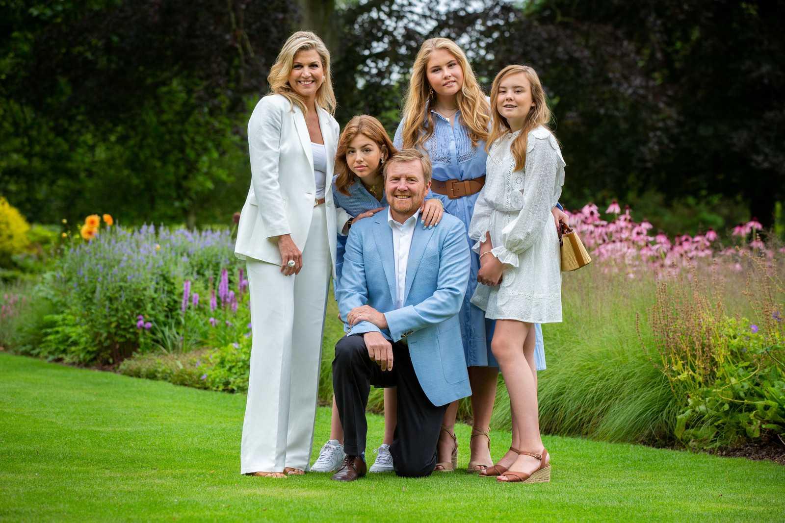 Нидерландская королевская семья в июле 2020 года. Фото: © RVD / Wesley de Wit.