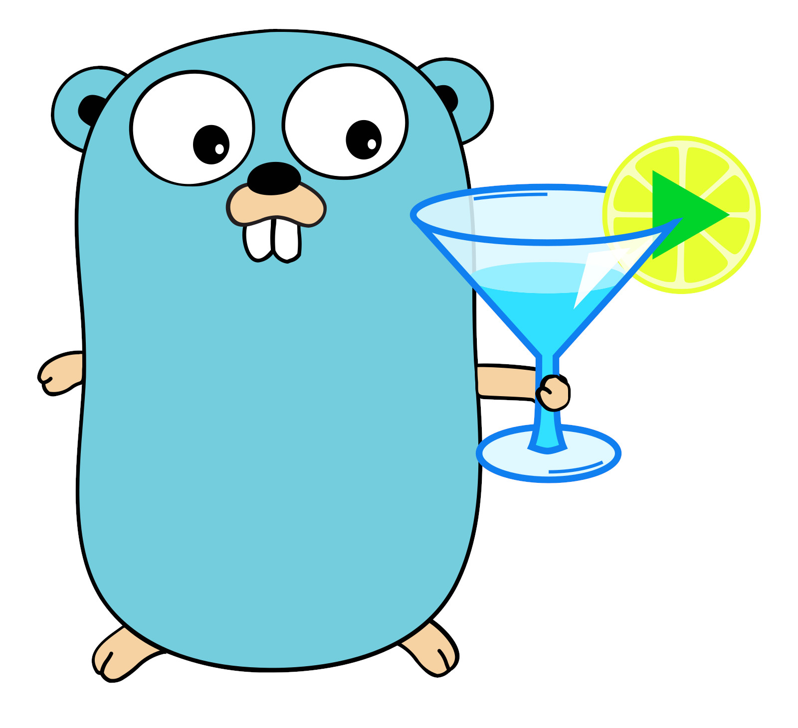 Go Gopher: cheers to Ymuse!